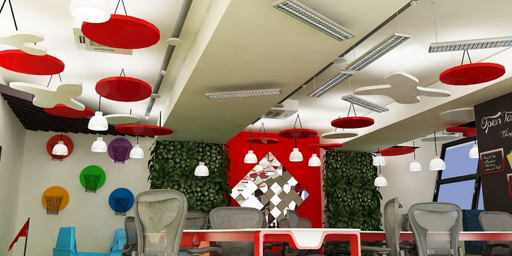 Open table ceiling