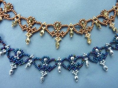 FREE beading pattern for necklace Regal Lace