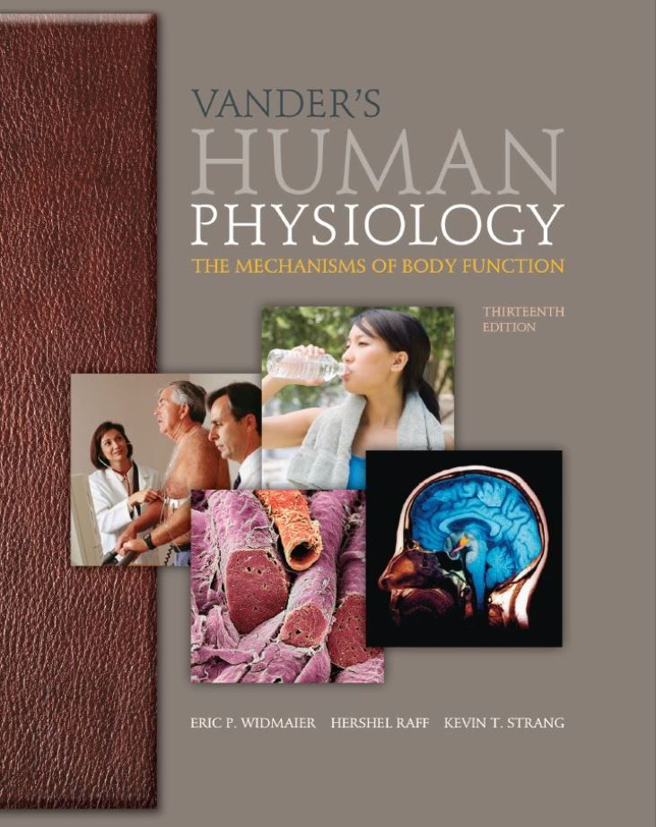 Vanders Human Physiology 10th Edition Pdf