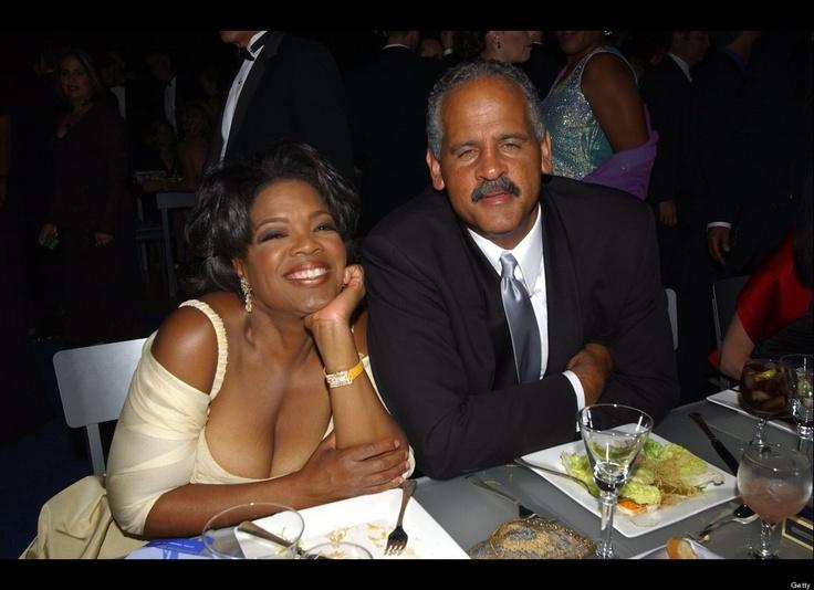 Queen of Media, Oprah Winfrey and Stedman Graham enjoying a moment. #love