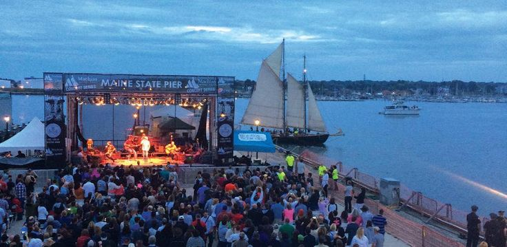 Concerts at the Portland State pier