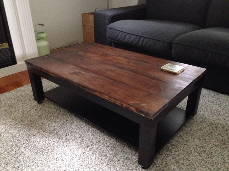 Ikea Lack coffee  table hack                                                                                                                                                                                 More