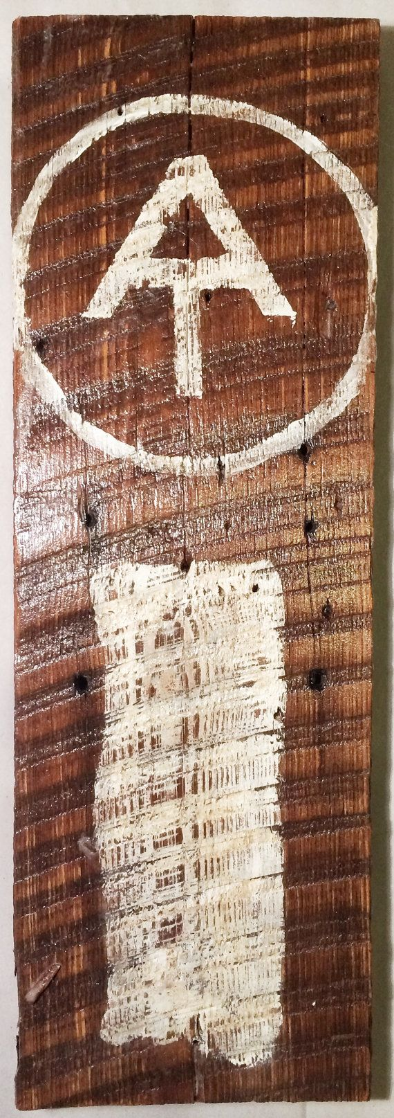 Appalachian Trail AT Distressed Wood Sign Decor by HikersNook, $29.00