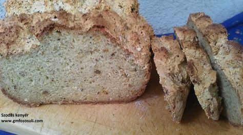 Szódás kenyér glutén-,laktóz- és tojásmentesen