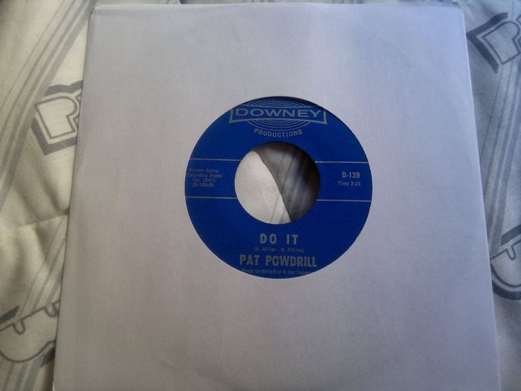"""PAT POWDRILL  - Do It  -  DOWNEY   45s""""  Northern Soul"""