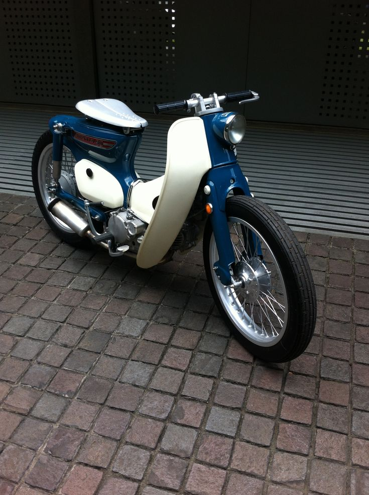 Without a doubt the coolest Honda C90 i've seen. And one of the most undervalued smaller scoots.