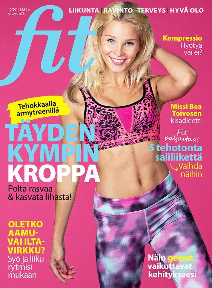Fit 10/2014 I Kuva: Mari Lahri I www.fit.fi