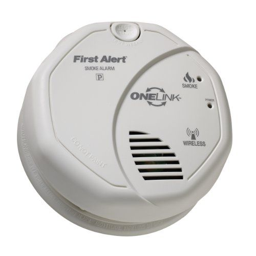first alert sa501cn onelink wireless battery operated smoke alarm - First Alert Smoke Detector
