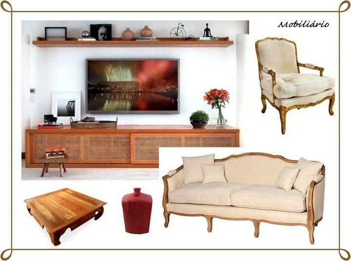 Projeto II - Decoração de Espaço Habitacional Concept Board: Mobiliário (Cliente Real) Estilo Rústico (Elementos mexicanos e náuticos)