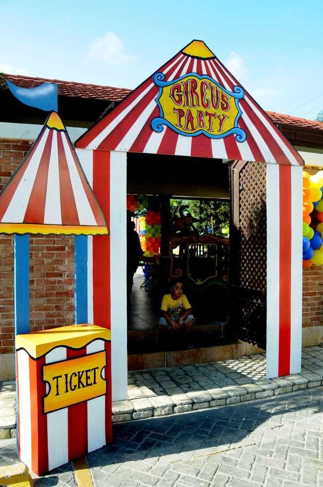 Circus Birthday Party Ideas