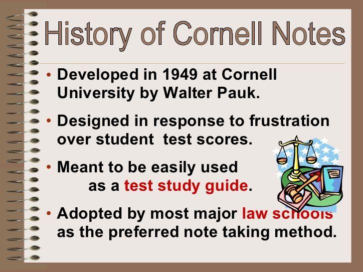 18 best Cornell Notes images on Pinterest Cornell notes, Note - sample cornell note