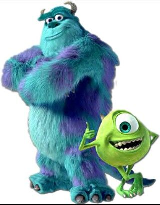 Throughout the play Macbeth and Lady Macbeth are scared just like the children in the Monster Inc movie.