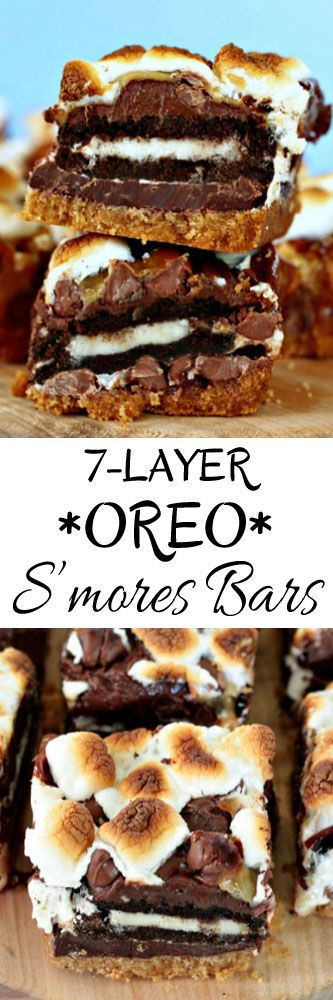 7-Layer Oreo S'mores Bars
