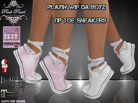 [PPD] Playin Wif Da Boyz Tip Toe Sneakers - Pastels