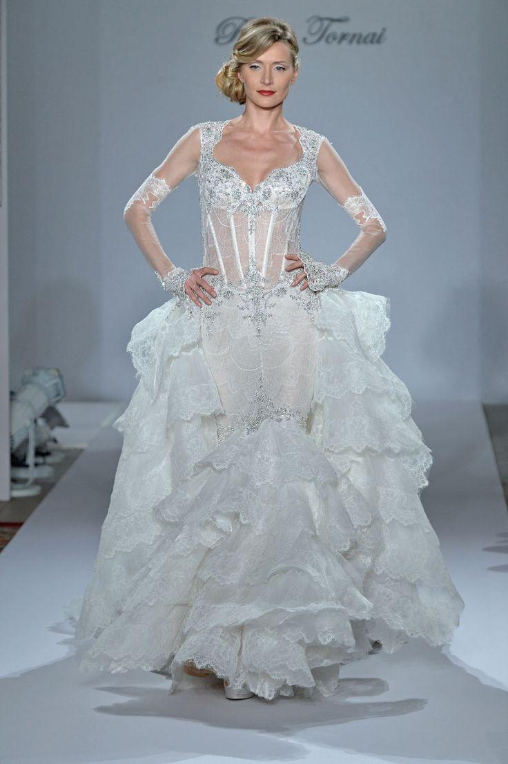 47 best Bridal Fashion Week Fall 2015 images on Pinterest ...