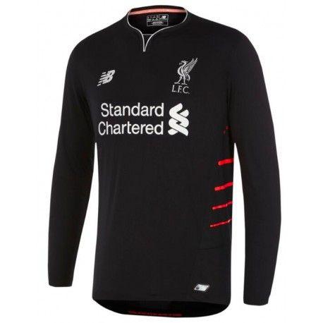 Maillot Liverpool  2016-2017 Extérieur Manches Longues