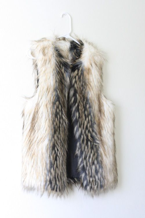 Faux fur perfection
