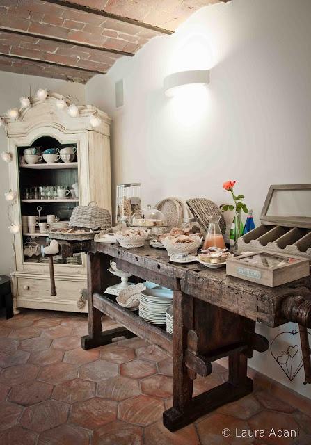 Italy  – Tuscany  – Massa Carrara  – Breakfast – Le colazioni del B&B Il Cuore..