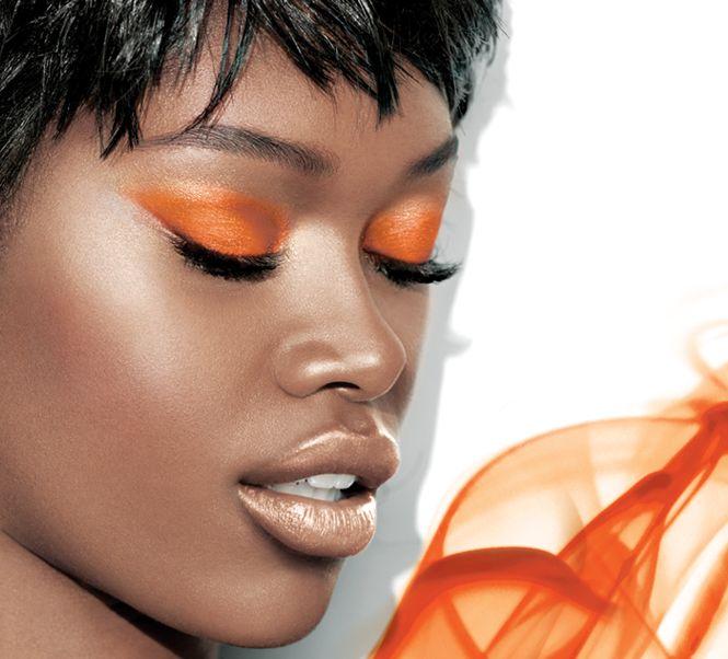 Maybelline Spokesbeauty Jessica White Wears Maybelline Color 24 Hour Eyeshadow in Fierce & Tangy: Orange, Studios, Color Tattoos, Maybelline Eyeshadows, Eye Makeup, Maybelline Colors Tattoo, Eye Shadows, Beautiful Blog, Cream