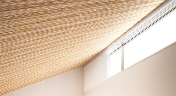 ボード 天井自然素材 のピン