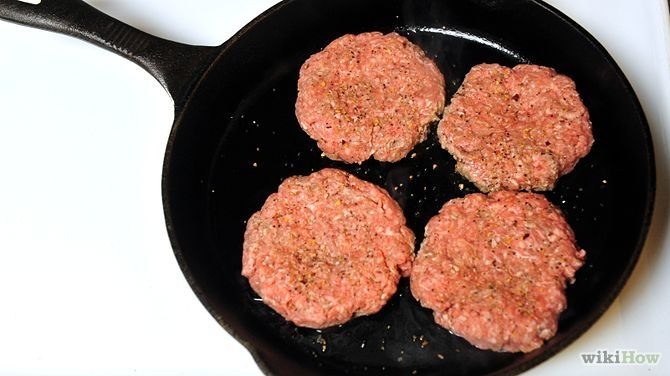 How to Cook Hamburgers on the Stove: 7 Steps (with Pictures)