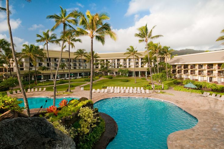 Kauai Beach Resort - Featured in our All-Inclusive Kauai Vacation Package www.aloha-hawaiian.com #Hawaii #hawaiivacation #hawaiigrouptravel #allinclusivekauai