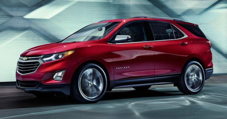 New 2018 Chevy Equinox Making LA Show Debut #Chevrolet #Chevrolet_Equinox
