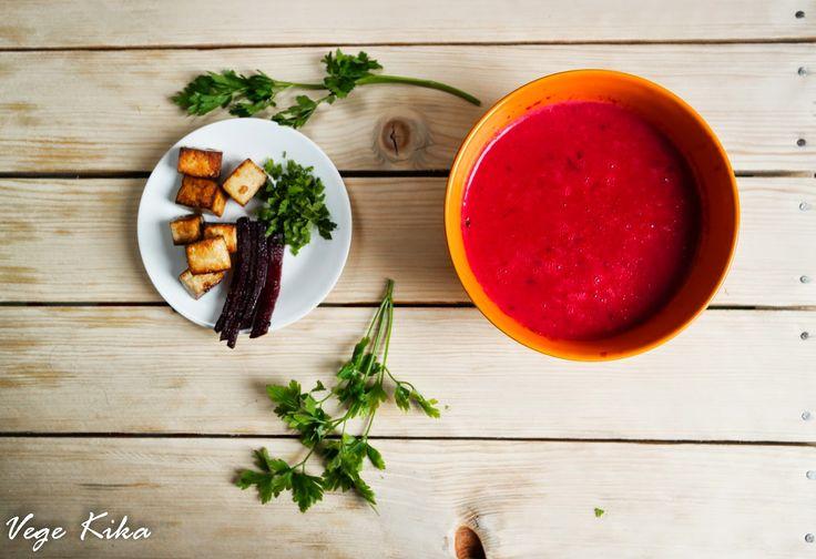 Alternatywa dla barszczu - tajski krem z buraków Thai beetroot soup