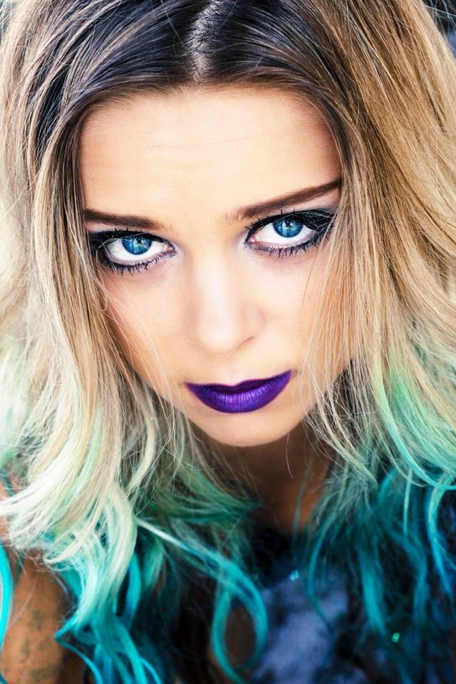 Aqua Ombre Mermaid Hair Turquoise