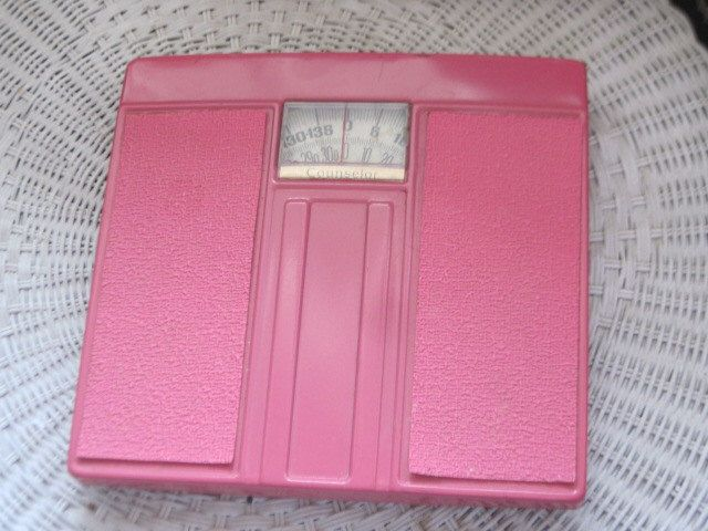 Dark Pink Standing Weight Scale Bathroom Scale,Pink Bathroom,Vintage Bathroom,Pink Bathroom Scale, Vintage Bathroom Scale by Daysgonebytreasures on Etsy https://www.etsy.com/listing/228865574/dark-pink-standing-weight-scale-bathroom