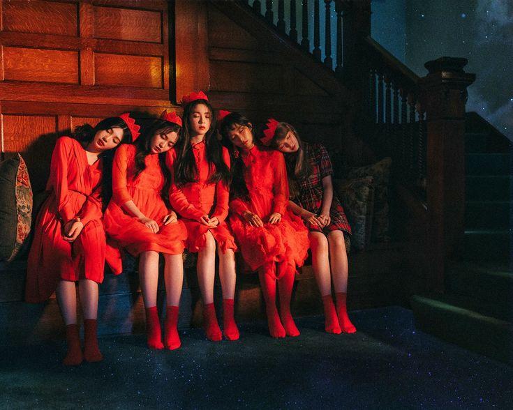 Red velvet for perfect velvet album images Peekaboo