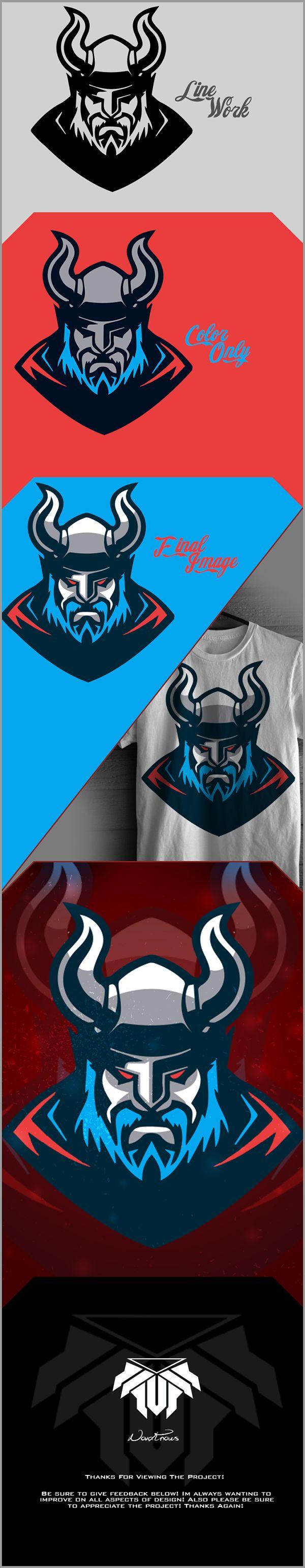 Viking Mascot Project on Behance