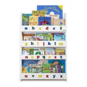 Childrens Bookcase in White LC – Wooden Bookshelves and Storage for Your Children