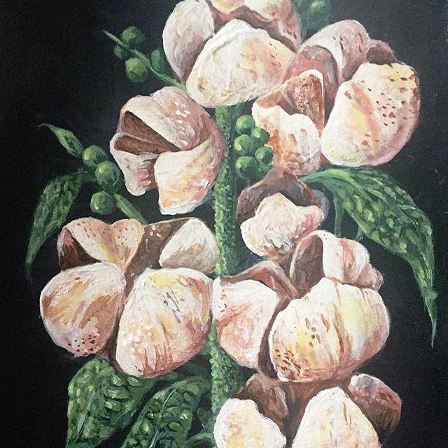 👩🏻🎨 #painting #art #flowers 🌸🌸🌸