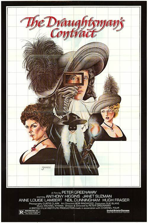 THE DRAUGHTSMAN'S CONTRACT (1982, United Kingdom).