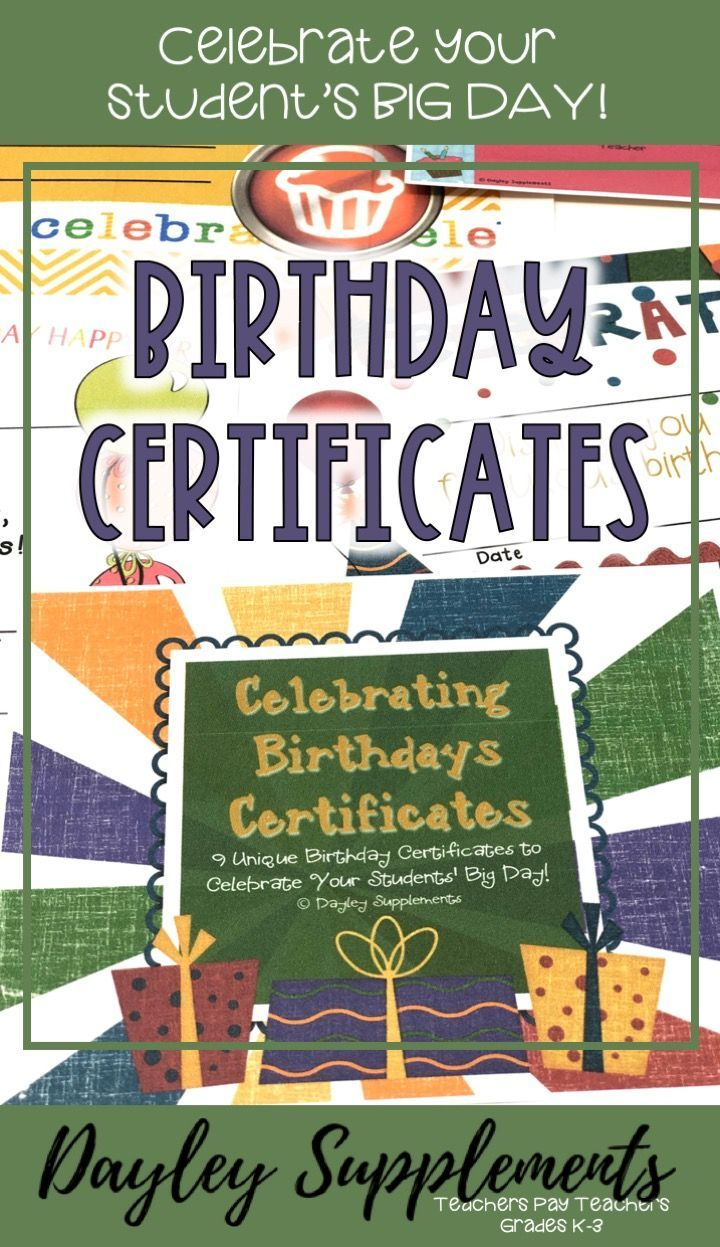 photo relating to Printable Birthday Certificates named Birthday Certificates - Boy and Female Celebrations~Get-togethers