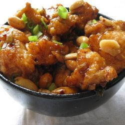 Kung Pao Chicken!!: Food Recipes, Fun Recipes, Chicken Recipes, Maine Dishes, Kung Pao Chicken, Copycat Recipes, Green Onions, Chinese Food, Chicken Breast