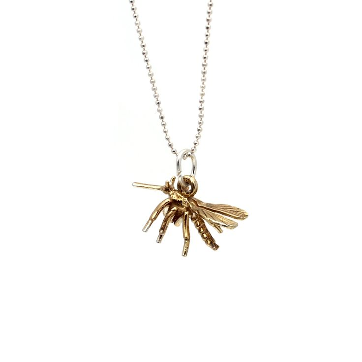 Wasp Necklace by Kate McCoy www.katemccoy.com