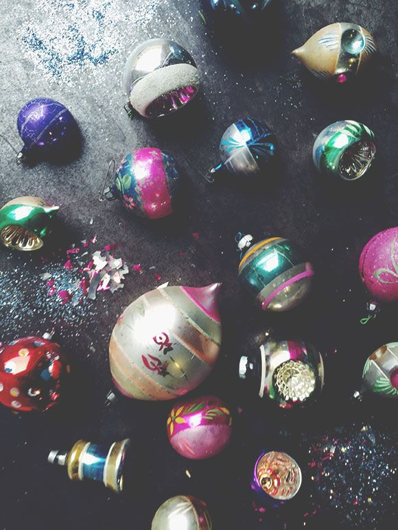 Old + New: Vintage Christmas Ornaments