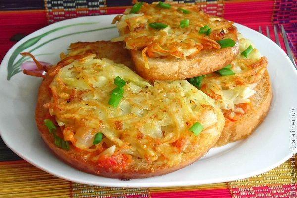 Горячие бутерброды / Рецепты с фото
