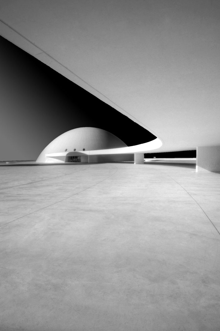 This is not some Computer Rendering. This was built some 50 years ago - Brasilia, Oscar Niemeyer