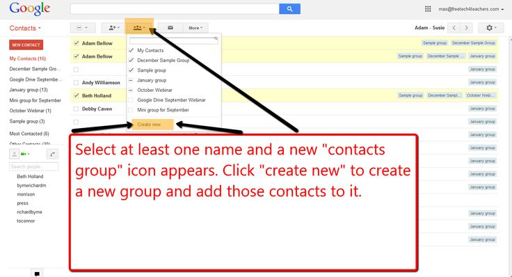 How to Create Contact Groups to Make Sharing Google Documents Easier