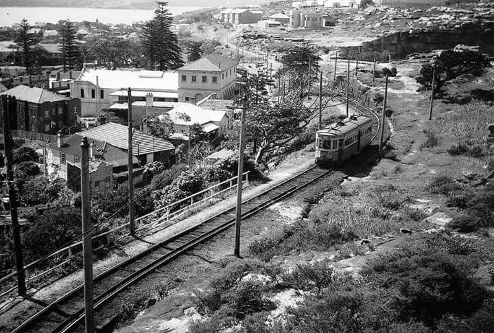 Watsons Bay tram in 1960.