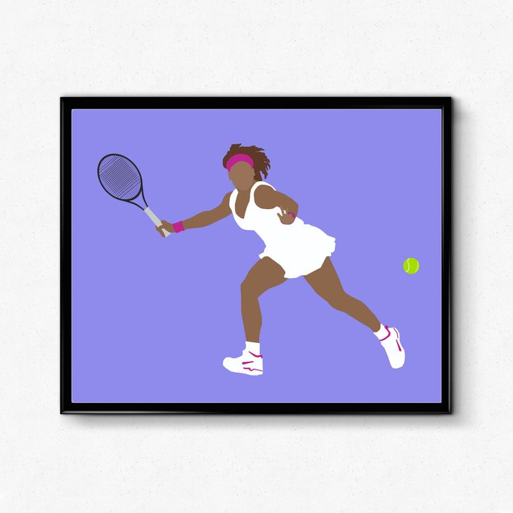 Serena Williams Tennis Poster- Feminist Print, Unique Wall Art by TheFilmArtist on Etsy https://www.etsy.com/listing/513276534/serena-williams-tennis-poster-feminist