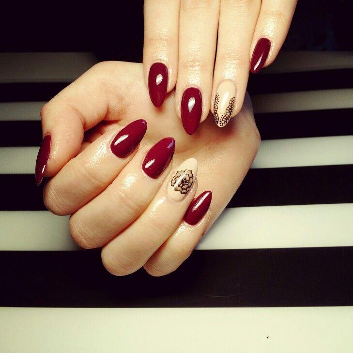 Semilac nail art