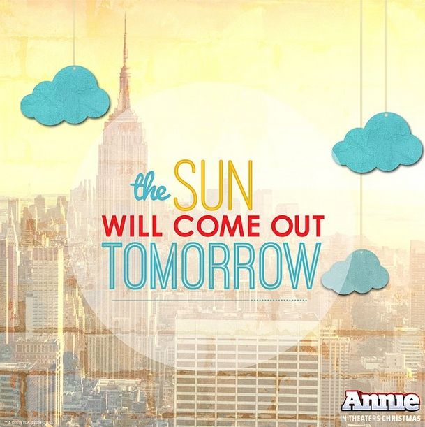 Annie Movie Jumps Into Social Media – The Sun Will Come Out Tomorrow