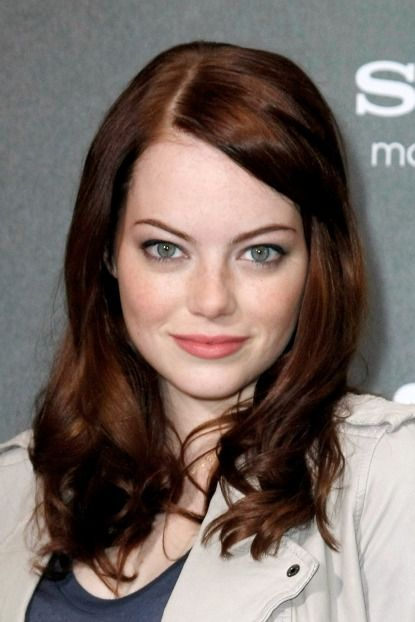 One of my favorite actresses! Emma Stone. She just so happens to be in some of my favorite movies! Easy A, The Help and Crazy Stupid Love...