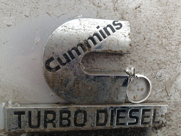 Dodge Cummins Engagement Ring! -Propose to me like this and you best believe imma say yes!
