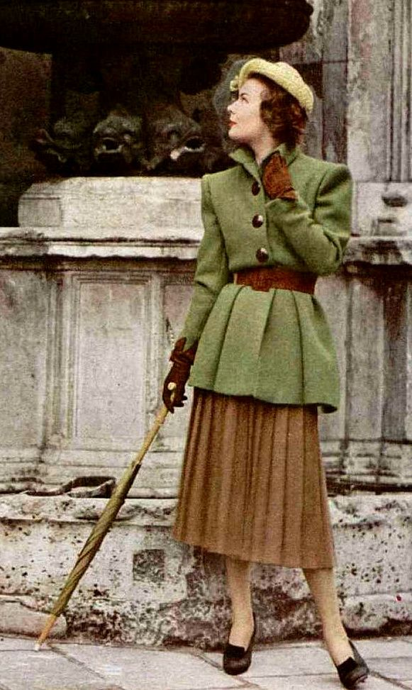 Fabulous Vintage Fall Fashion