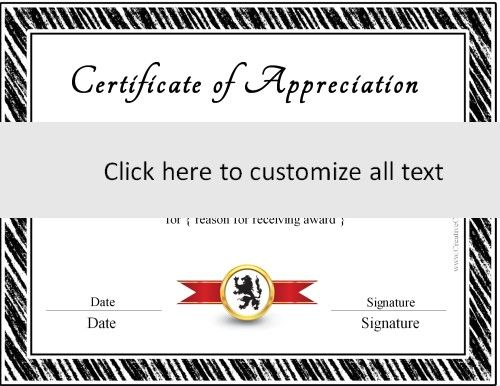 The 25+ best Free certificate maker ideas on Pinterest - certificates of appreciation templates for word